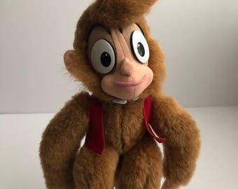 """Mattel Disney Aladdin Abu Monkey Small 10"""""""
