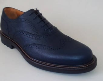 Men's handmade shoes in genuine leather