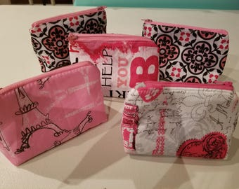 Little bitties, cosmetic bag, makeup, gifts for her