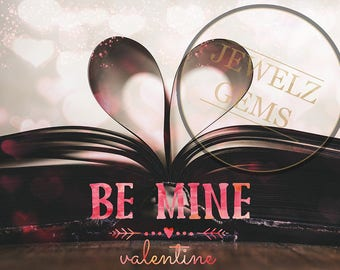 Valentines Digital Backdrop, Valentines Digital Background, Valentines Romantic Backdrop, Valentines Romantic Background, Romantic Book