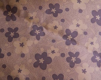 Vintage Printed Cotton 1970s 1980s