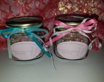 Lavender & Rosemary Bath Salts