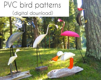 PVC bird patterns | DIGITAL DOWNLOAD |  pdf file