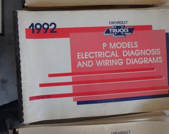 1992 chevrolet electrical diagnosis and diagrams- P-models