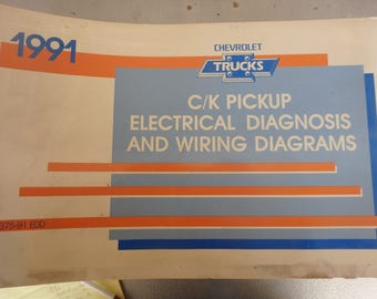 1991 chevrolet electrical diagnosis and diagrams- C/K models