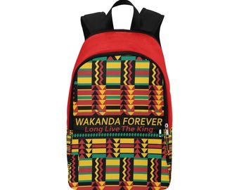 Wakanda Forever Custom Fabric Backpack
