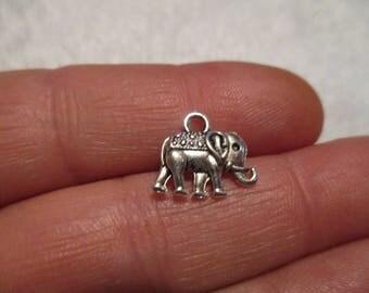 Set of 10 Elephant Charms