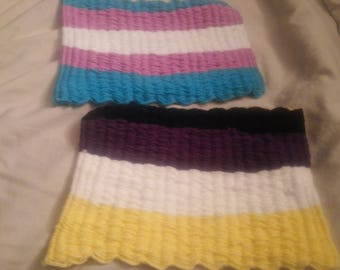 Woven mats in your pride colors