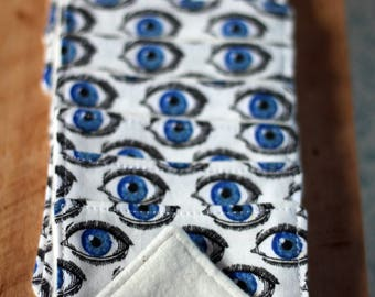 Cleansing wipes eyes present Zero waste natural beauty