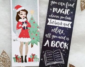 Bibi Books ' Christmas special ' bookmark