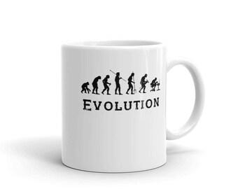 Evolution coffee Mug funny gift