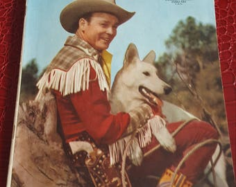 Roy Rogers Comics 25 strict 1950 VF+ High-Grade Roy Rogers,