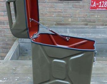 storage box made of jerrycan