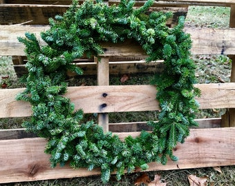 Maine Balsam Fir Wreath- LG