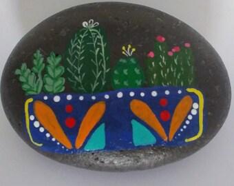Cute cactus in a planter