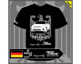 T-shirt Volkswagen Golf R 3-door MK7 (Typ 5G)