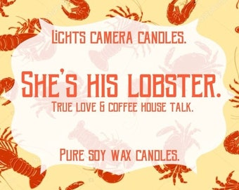 She's His Lobster - Inspired by Ross & Rachel from FRIENDS.