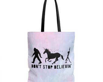 STYLEFOX Don't Stop Believin  Tote