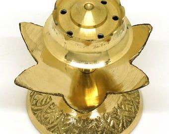 South Indian Brass Incense Holder