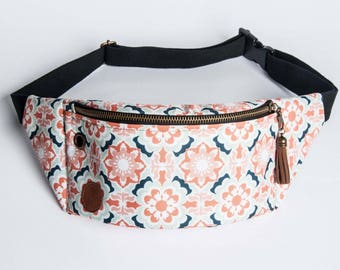 morocco fanny pack, bum bag, hip pouch, handmade, slow fashion, zala szyje