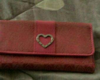 Teen pink wallet