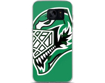 "Green ""92"" Goalie Mask Samsung Case"
