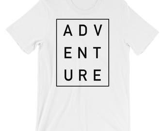 Adventure, Outdoors Themed Short-Sleeve Unisex T-Shirt