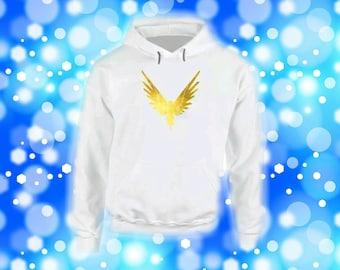 Maverick Youth Gold Bird Hoodie Hooded Sweatshirt