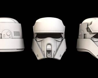 Star Wars Rogue One Shoretrooper Helmet.