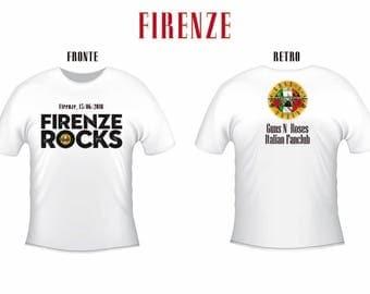 Guns n ' Roses: Florence 15-6-2018 Gnr Italian