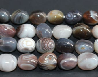 15 Inches Full strand,Natural Botswana Agate Gemstone Smooth Random irregularity nugget beads,loose beads,semi-precious stone