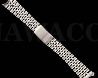 Heavy Stainless Steel Jubilee Watch Band for Men's Rolex