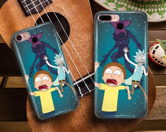 rick and morty phone case, stranger things phonecase, iPhone 8 Case , Samsung Galaxy S7, iPhone 6, iPhone 5S, iPhone 7 case, iPhone 8 Plus,