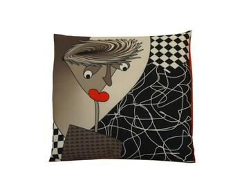 M.POL printed Cushion cover