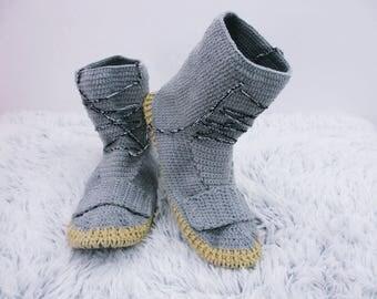 Crochet Shoes Crochet slippers  Crochet Sneakers House slippers, Cotton slippers, Women slippers, Childrens slippers, Winter slippers