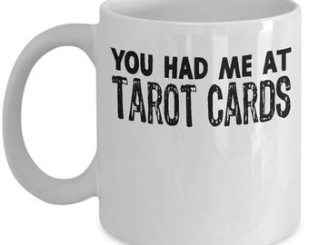 Funny Tarot Cards Mug For Fortune Teller Gift Students Gift Idea for Mom, Daughter, Sister Coffee Mug / Tea Cup White Ceramic 11oz or 15 oz