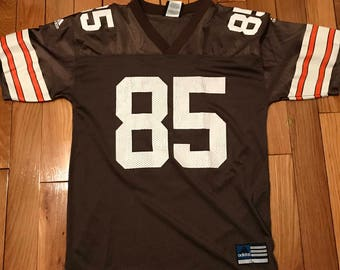 newest e5e2a cf40a ... cleveland browns jersey 85 kevin johnson kids large