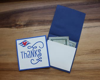 Disney Cruise Line Thank You Cards (Set of Five) Tip NOT Included