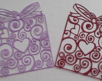 Filigree Present Die Cuts