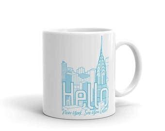 NY See You Later Skyline Mug!