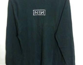 Vintage nine inch nail shirt