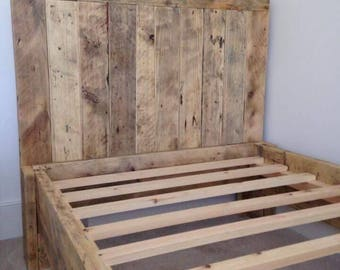 Reclaimed timber beds