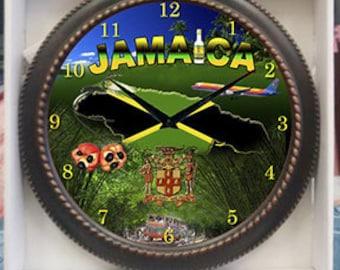 Jamaica Rum clock  Decor wall Clock