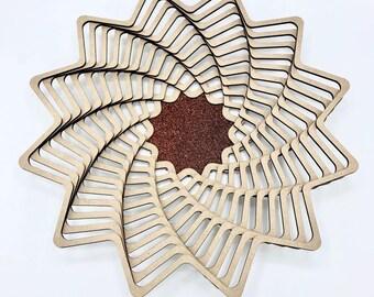 Wooden Centerpiece