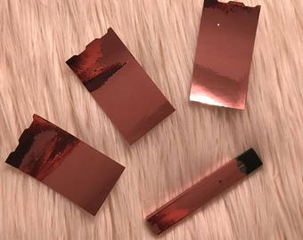 rose gold chrome Juul skin Juul sticker Juul decal Juul wrap