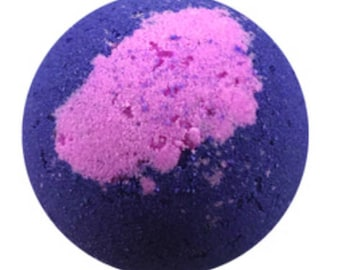 Large Black Raspberry Vanilla Bath Bomb 5 oz.