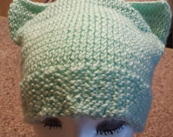Mint Cat Hat