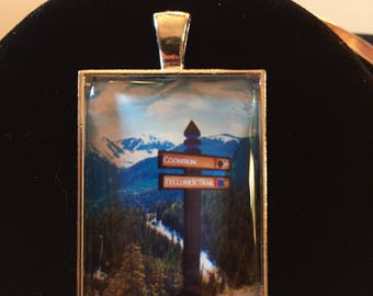 Photograph under glass! Picturesque Colorado..Photo take in Telluride, CO - Breathtaking views!