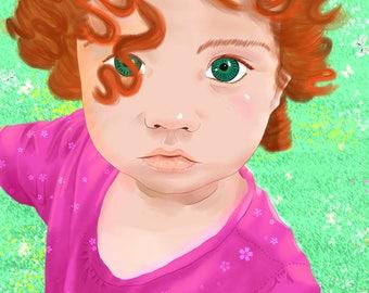 Aída's eyes