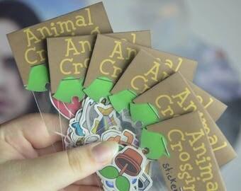 Animal Crossing Sticker Packs